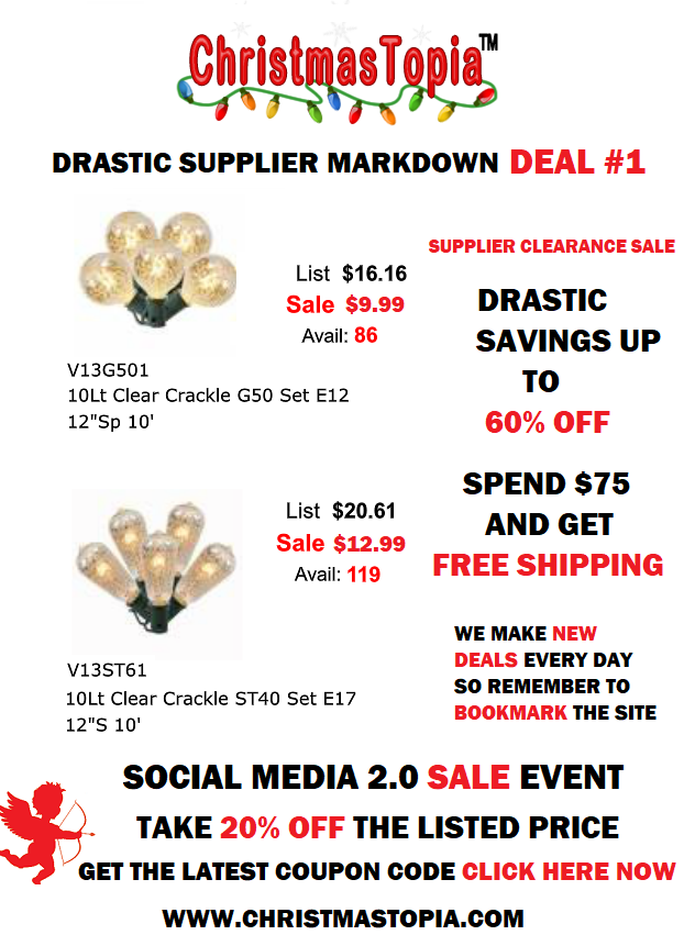 Deal Number 001 Up to 60% Off Regular Price