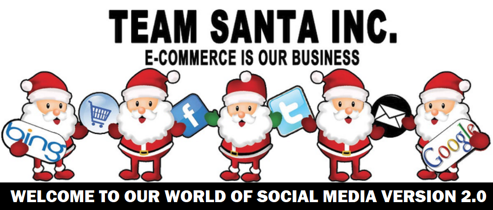 Welcome to the Team Santa Inc Blog!