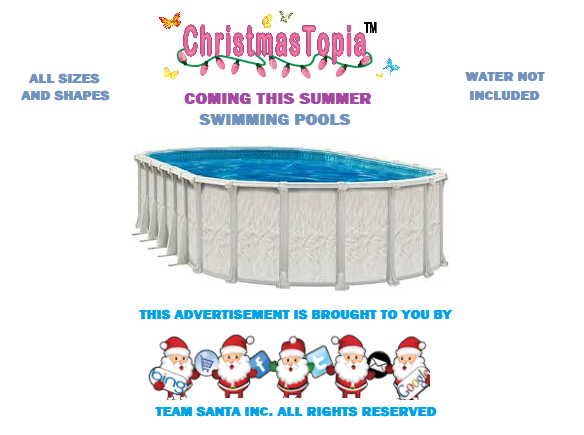 Assorted Sizes of Swimming Pools For Sale at Christmastopia.com This Summer