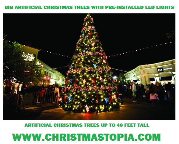Having a Tree Lighting Ceremony? The Biggest Christmas Trees at The Lowest Prices Anywhere