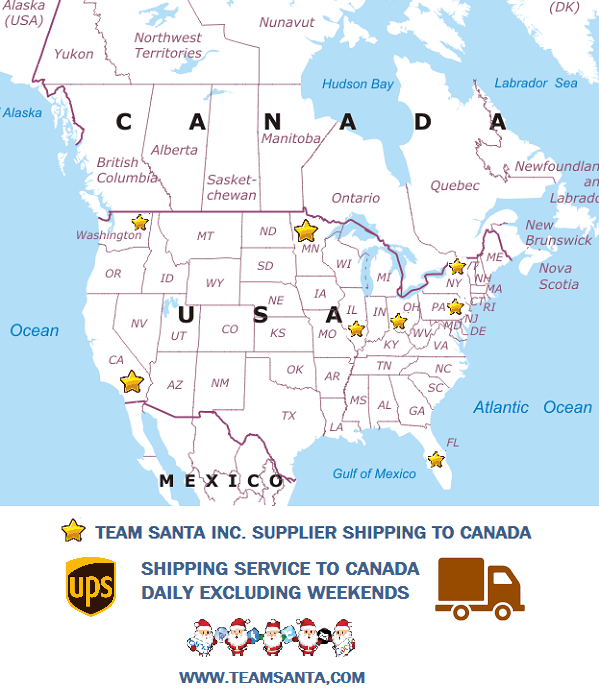 We Ship to Canada Every Day So Make Our Next Delivery to Canada Yours‎