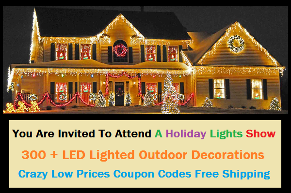 Are Lighted Outdoor Decorations on Your List This Holiday Season?