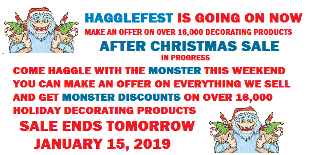 Monster After Christmas Sale Ends Tomorrow