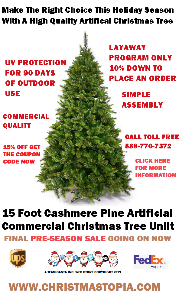 Your Big Lighted Artificial Christmas Tree Will Sell Out Potential Shortage Looms Over Availability