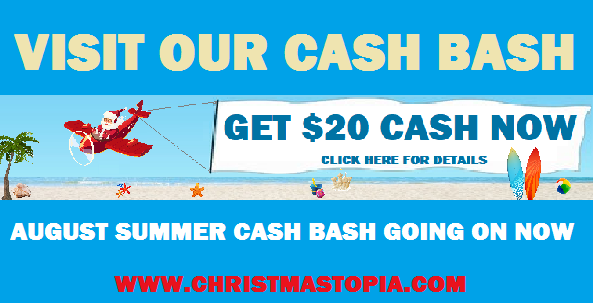 August Summer Cash Bash You'll Feel Like a Kid in a Christmas Store