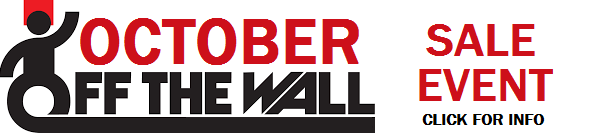 Get Crazy Low Prices At October's Off The Wall Sale Event